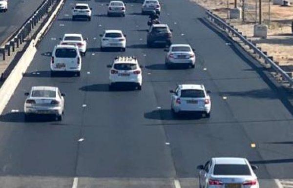 """חדש: נפתח לתנועה נתיב נוסף בכביש 4 עד למחלף סיירים…בקרוב גם רמפת ירידה נוספת לכביש 4 מראשל""""צ"""