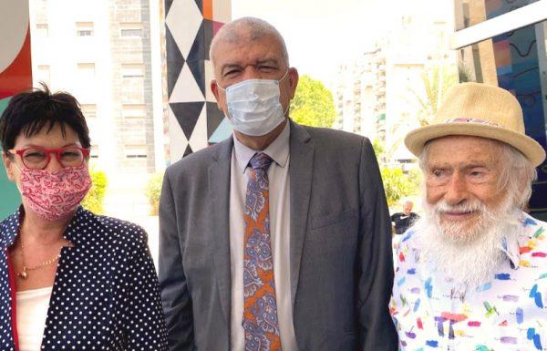 השגריר המיועד של מרוקו בישראל הגיע לביקור היסטורי במוזיאון אגם בראשון לציון