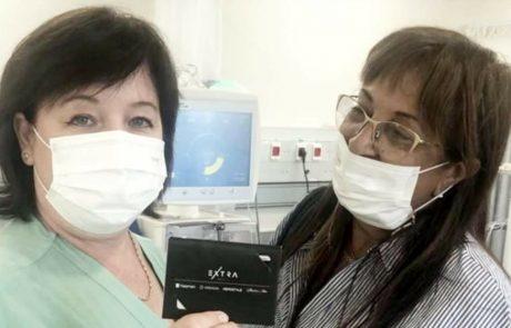 """מרגש:רותי מאירוביץ חילקה עשרות שוברי שי על סך 300 ₪ לחולי דיאליזה בבי""""ח שמיר אסף הרופא"""